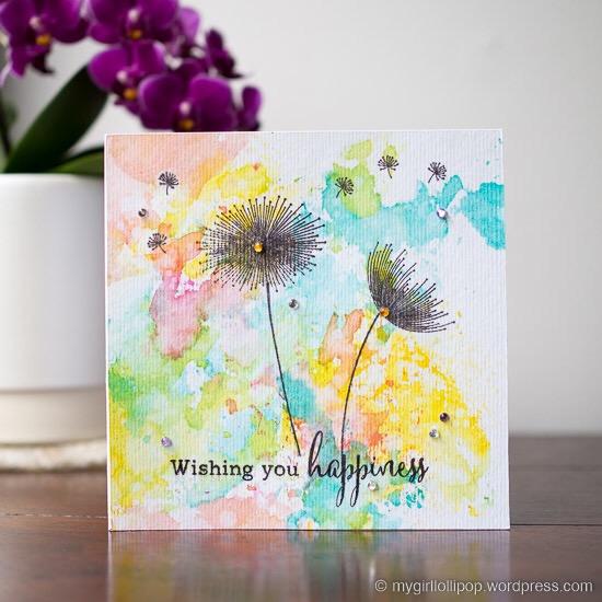 Dandelion Dreams Card