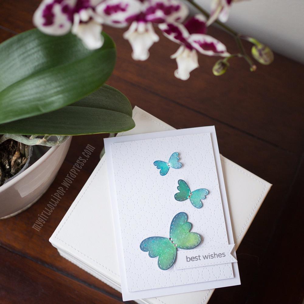 Lil' Inker Designs Stitched Butterflies dies