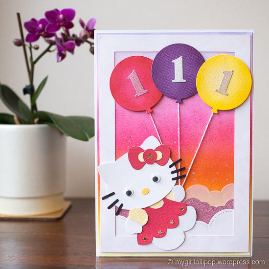 Hello Kitty birthday card mygirllollipop.wordpress.com