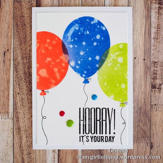 MFT Big Balloons Stencil