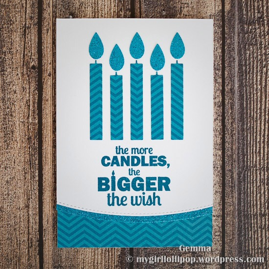 mft birthday candles die-namics
