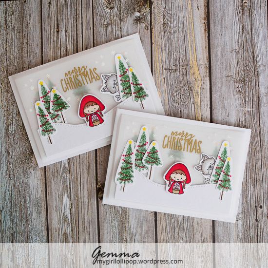 Christmas cards for nieces and nephew