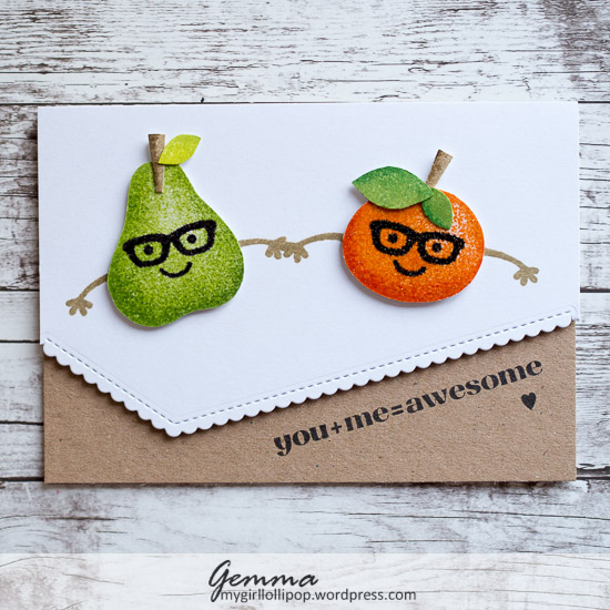 Paper Smooches Cute Fruit