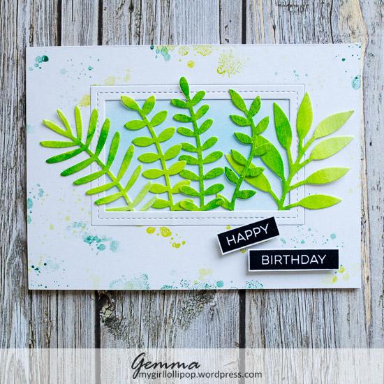 MFT Leafy Greenery die-namics