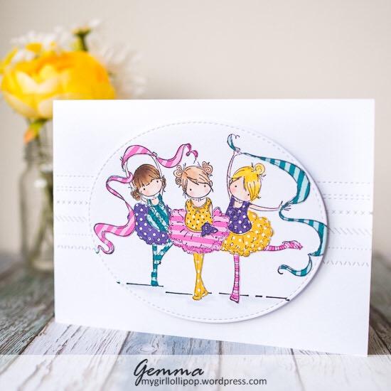 Stamping Bella Tiny Dancers