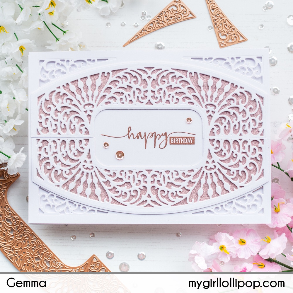 Spellbinders Amazing Paper Grace February 2019 Die Of The Month