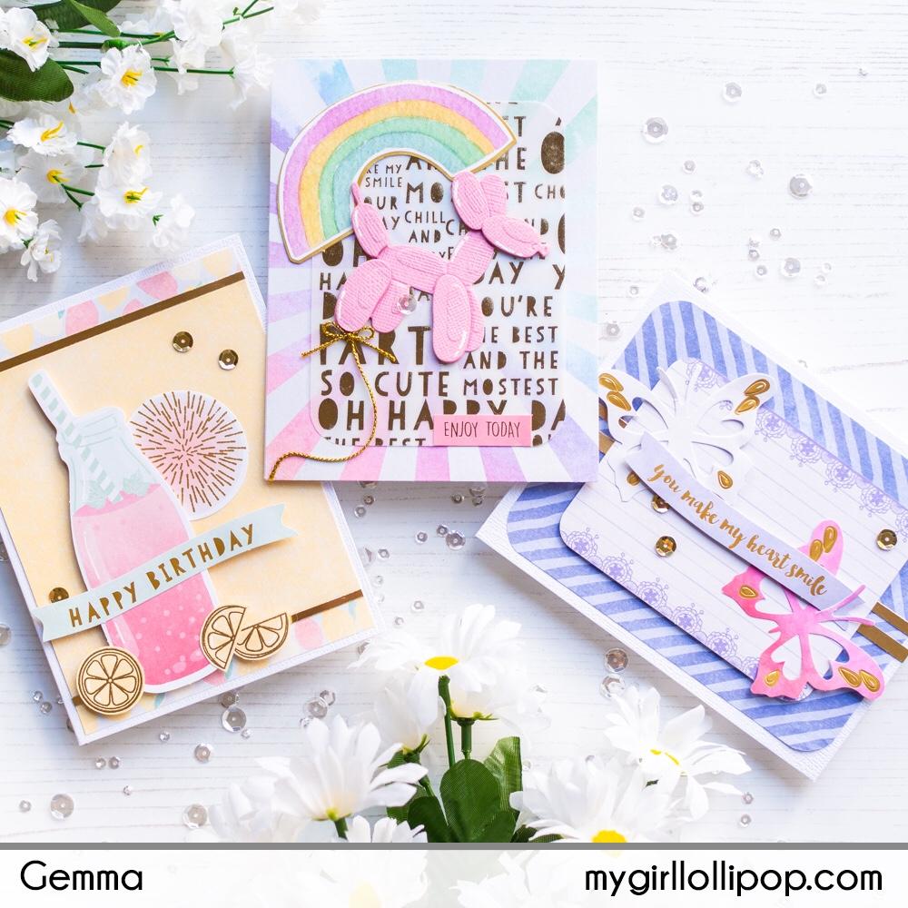 Spellbinders June 2019 Card Kit – mygirllollipop