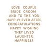 Glimmering Wedding Wishes
