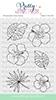 Hibiscus stamp set