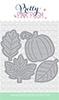 Small Stitched Foliage Tags
