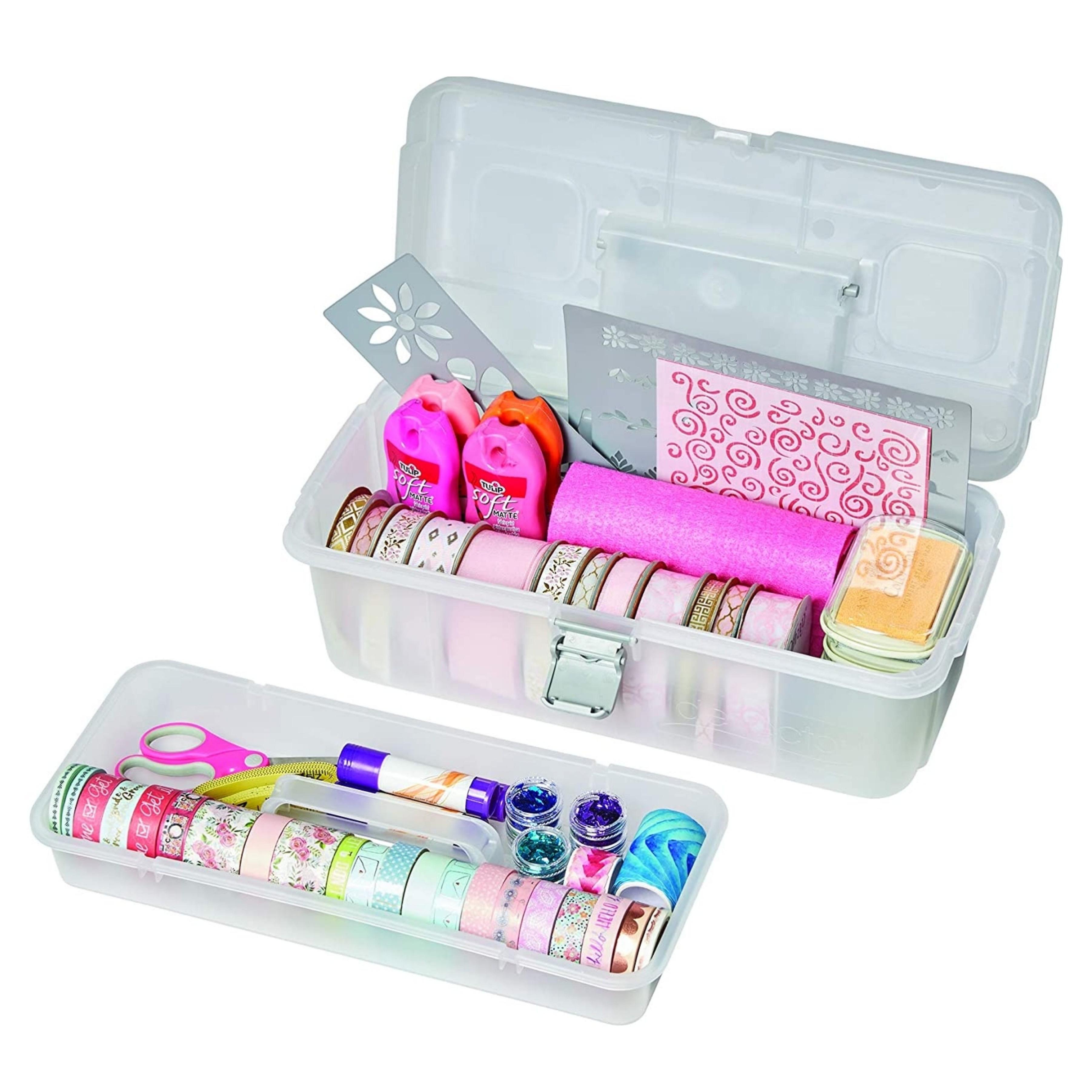 Single Tray Storage Box