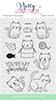 Cuddly Cats stamp set