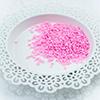 Pink Hearts clay confetti