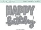 Happy Birthday Words Die