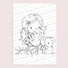 Koala Girl digi stamp