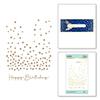 Slimline Confetti Background Glimmer