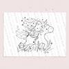 Unicorn digi stamp