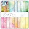 Essential Craft Papers - 6x6 Grunge - Light Tones