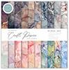 Essential Craft Papers - 6x6 Ink Drops - Dusk