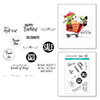 Shopping Bag Sentiments Clear Stamp Set